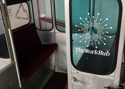 La cabine du WorkHub
